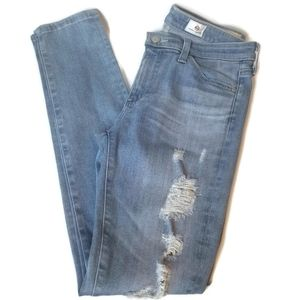 AG Adriano Goldschmeid Jeans Suze 27R Blue